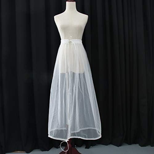 Enagua de Inodoro para Vestido de Novia de Boda Frunce Falda: Amazon.es: Hogar