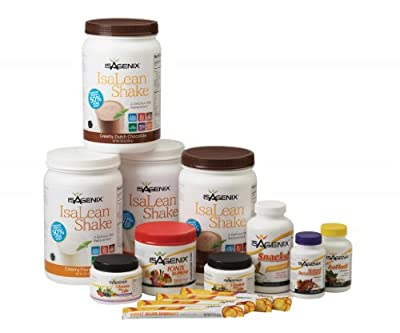 Isagenix 30 Day Cleansing and Fat Burning System - Vanilla and Chocolate