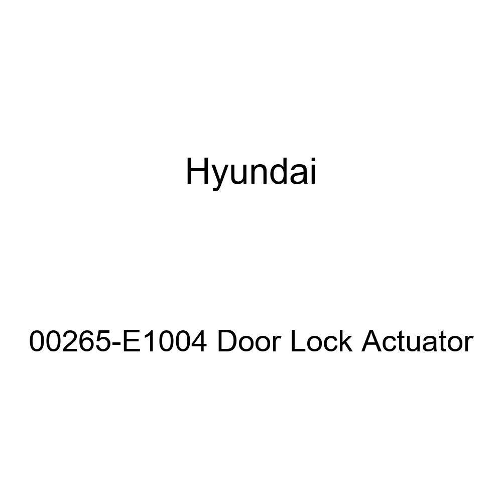Genuine Hyundai 00265-E1004 Door Lock Actuator