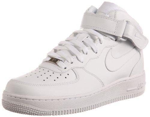 Nike Men's Air Force 1 MID 07, WHITE/WHITE, 6 M US 315123-111