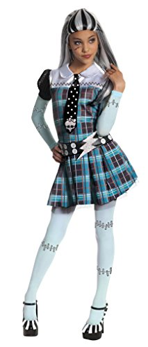 Monster High Frankie Stein Costume - One Color - (Halloween Costumes Monster High For Kids)