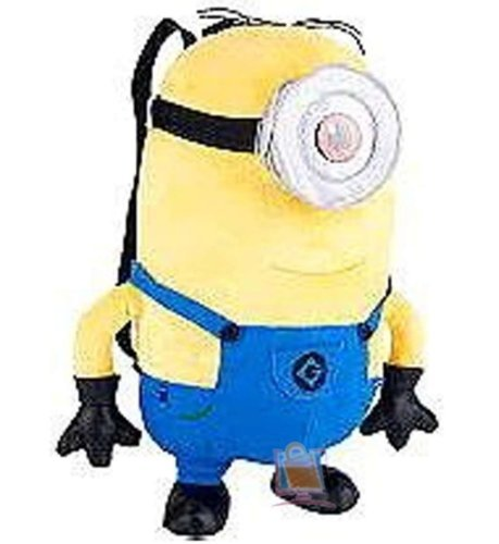 Despicable Me 2 Plush Backpack: One Eye Stuart