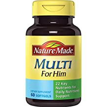Nature Made Multi for Him Softgels, 60 Count