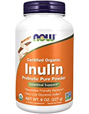 Now Foods Certified Organic, Inulin Pure Powder, 227g