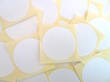 Paquet de mm rond papier blanc étiquettes adhésif