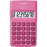 Calculadora de Bolso Vertical com Visor 8 Dígitos, Casio, HL-815L-PK, Rosa