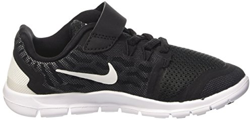 Nike Free 5 (Psv) - Zapatillas de running Niños Negro / Blanco / Gris (Black / White-Dark Grey-Cl Grey)