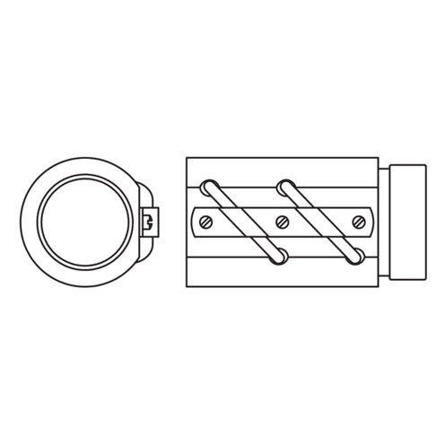 Thomson 7820207 - SAG Legacy Ball Nut Only - Non-Preloaded, Steel Mount Material, 1.150 in Nominal Screw Diameter, 300 °F Maximum Temperature