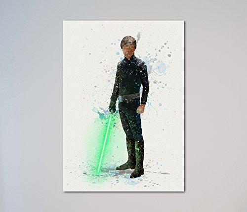 Star Wars Luke Skywalker Jedi Master Print