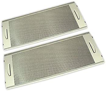 DOJA Industrial | Filtro metalico Campana Compatible con TEKA CNL-2000 | TEKA Kit 2 Unidades 500x190 mm: Amazon.es: Hogar