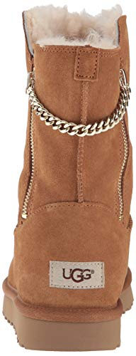 Classic Per Boot Short Donna Ugg Chestnut B6zwdxUY