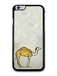 "AMAF ? Accessories Camel Watercolour Animal Wildlife Original Art Illustration case for for iPhone 6 Plus (5.5"")"