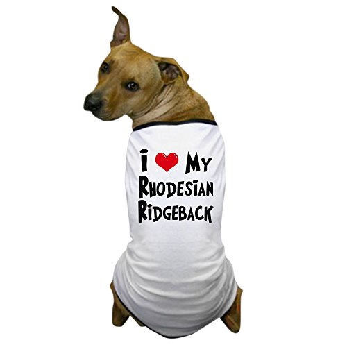 Ridgeback Lion Costume (CafePress - Rhodesian Ridgeback Dog T-Shirt - Dog T-Shirt, Pet Clothing, Funny Dog Costume)