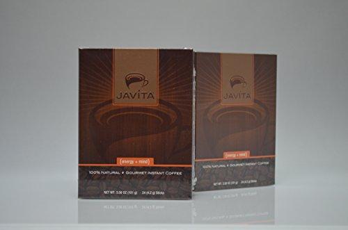 Javita (liveliness + mind) Gourmet Instant Coffee (Basic Kit - 2 boxes)