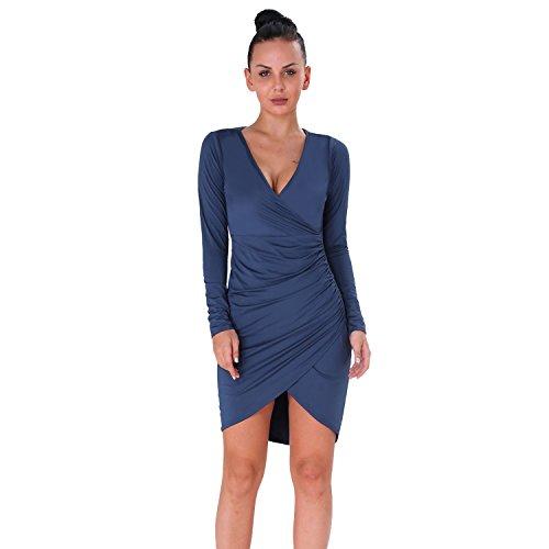 high low bandage dress - 7