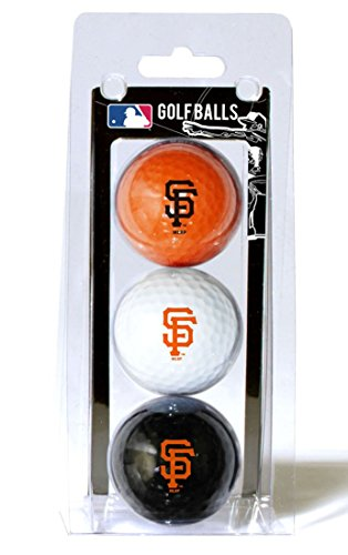 San Francisco Giants Team Ball (MLB San Francisco Giants 3 Golf Ball Pack)