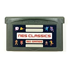 150 in 1 Multi Cart Classics Collection Super Games Made for GBA (Japan)
