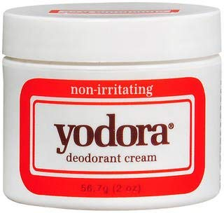 Yodora Deodorant Cream, non-irritating - 2 oz, Pack of 5 by Yodora