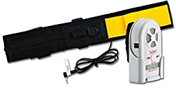 Secure Wheelchair Seat Belt Patient Alarm Set for Fall and Wandering Prevention - 80-120 dB Caregiver Monitor & Quick Release Alarming Seat Belt