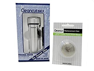 Cleancut Shaving Bundle - ES412 Personal Shaver & K30SP - Designed and Engineered for Personal Shaving - No Nicking or Cutting - Replacement Foil Kit (B07F2S2HQY) | Amazon price tracker / tracking, Amazon price history charts, Amazon price watches, Amazon price drop alerts
