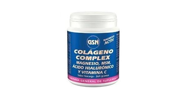 Colágeno Complex Sabor Naranja 364 gr. de Gsn: Amazon.es: Salud y cuidado personal