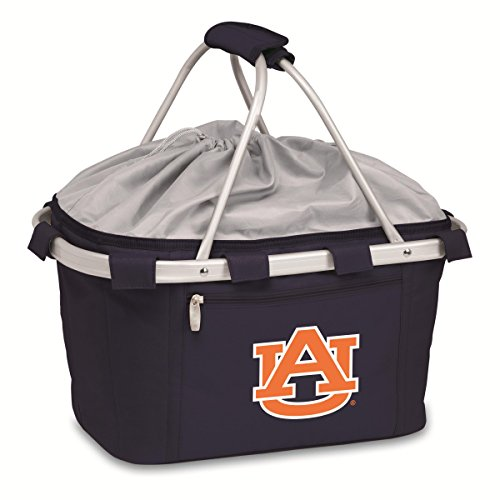 PICNIC TIME NCAA Auburn Tigers Digital Print Metro Basket, One Size, Navy