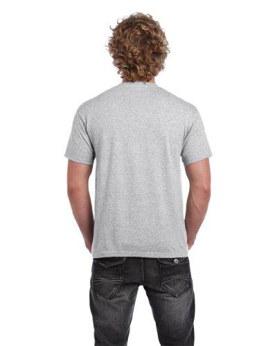 Heavy Cotton shirt T Ash Homme Gildan Adult 8qTd8Z