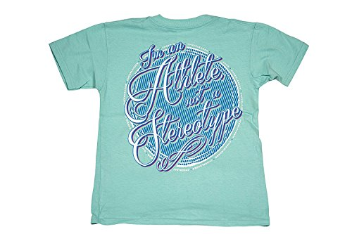 I'm An Athlete Not A Stereotype - All Star Outfitters Cheerleading Apparel - Youth Large