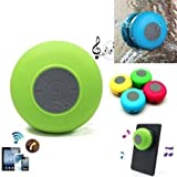Micromax Canvas Fantabulet compatible Wireless Bluetooth Speaker SR-525 A2DP Stereo with 6 Hour Playback Time and TF/USB/AUX Audio Port - Random Color- BY MOBIMINT