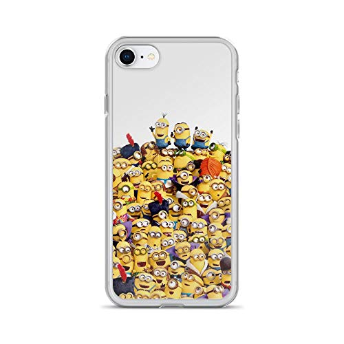 iPhone 7/8 Pure Clear Case Cases Cover Chaos Funny Guys Cartoon