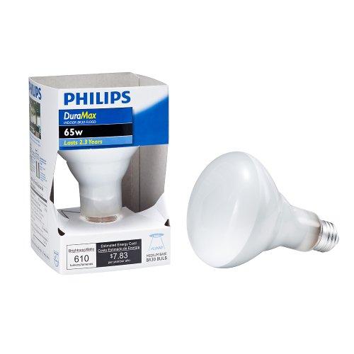 Philips 167684 Duramax 65-Watt BR30 Indoor Flood Light Bulb
