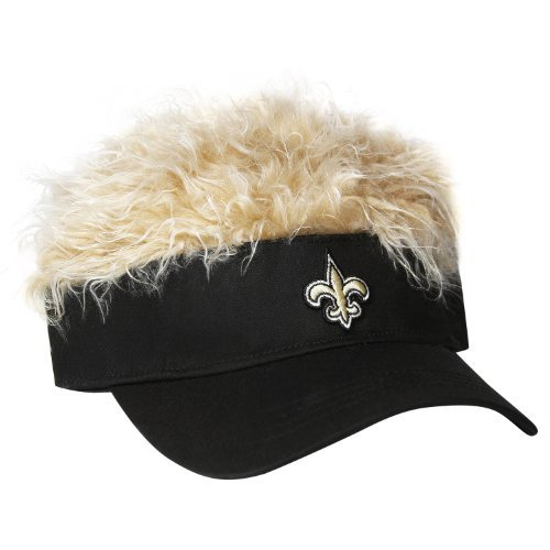 95cd21ca765f0 New Orleans Saints Flair Hair Visor – Football Theme Hats