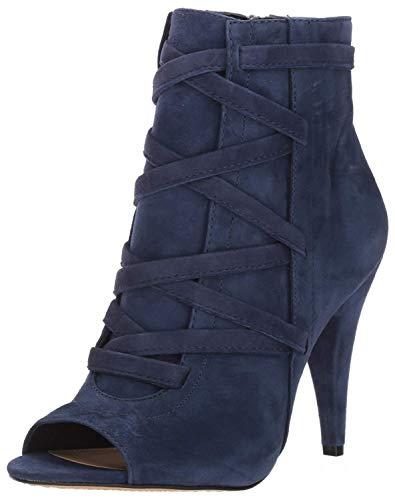 Vince Camuto Women's Aranda Ankle Boot, Navy Haze, 5 Medium US