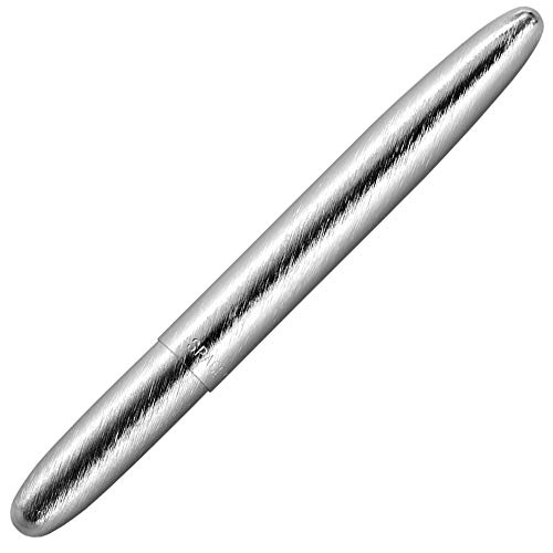 (Fisher Space Pen, Bullet Space Pen, Brushed Chrome, Gift Boxed (400BRC))