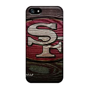 Iphone 5/5s NOM7825Lbpq Provide Private Custom Attractive San Francisco 49ers Image Excellent Cell-phone Hard Covers -RudyPugh