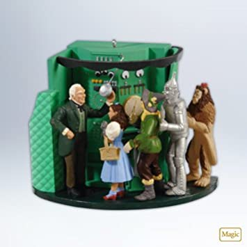 Hallmark 2012 U0026quot;The Man Behind The Curtainu0026quot; Wizard Of Oz Ornament