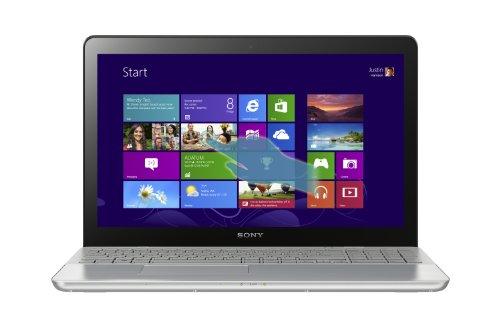 Sony SVF15A1BCXS 15 5 Inch Touchscreen Laptop