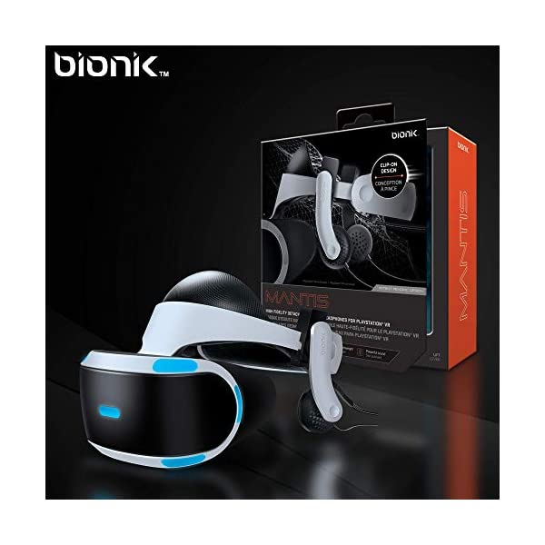 Bionik Mantis Attachable VR Headphones: Compatible with PlayStation VR, Adjustable Design, Connects Directly to PSVR, Hi-Fi Sound, Sleek Design, Easy Installation 7
