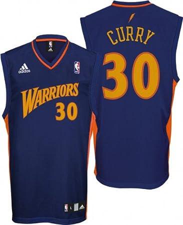 a7dd411dc82f ... good amazon adidas golden state warriors 30 stephen curry navy blue  replica basketball jersey x af1e7