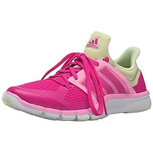 adidas Performance Women's Adipure 360.3 W Training Shoe,Shock Pink/Shock Pink/Halo Yellow,7 M US