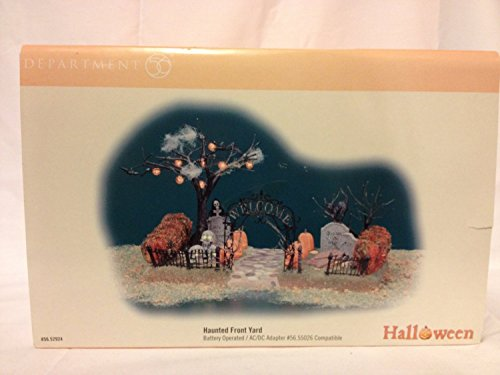 Dept 56 Accessories Haunted Front Yard 52924 Halloween