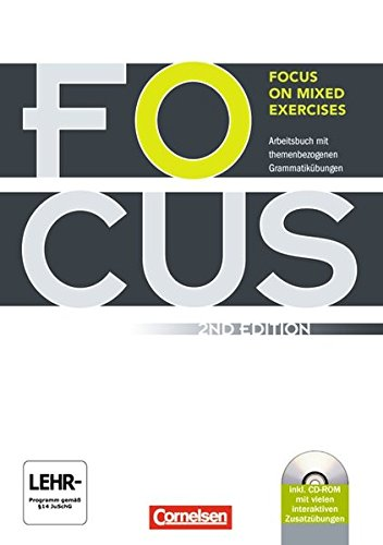 Focus On Mixed Exercises   Second Edition  B1 B2   Arbeitsbuch Mit Lösungen Und CD ROM