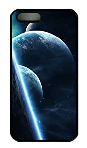Case For Iphone 5/5S Cover CaCustomized Unique Design Planets 7 New Fashion PC Black Hard