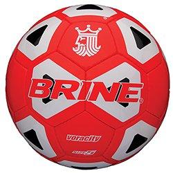 (Brine Brinevoracity Soccerball RD/Whbk Sz 5)