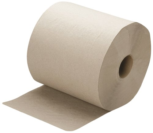 Fiber Ply Recycled 1 - SKILCRAFT 8540-01-591-5823 Recycled Fiber Single-Ply Continuous Roll Paper Towel, 800' Length x 8