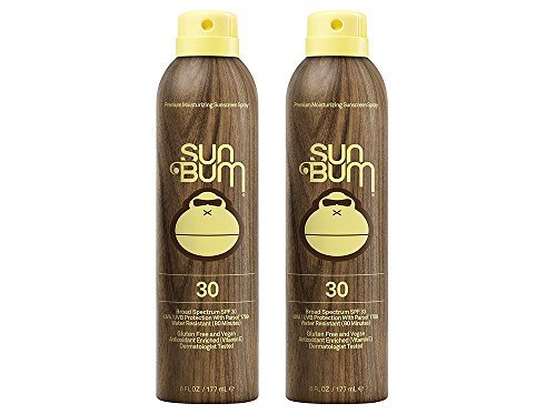Sun Bum Continuous Spray PKALD Sunscreen, SPF 30 (2 Pack)
