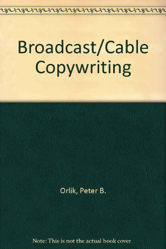 Broadcast/cable copywriting
