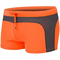 007XIXI Men Sexy Beach Pants,Men's Swim Trunk Swim Summer Sexy Elastic Beach Shorts Pants for Men Suitable for Any Man