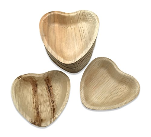 Palm Leaf Heart Bowl 6