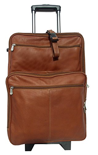 Piel Traveler Case (Piel Leather Blushing Red Collection 22